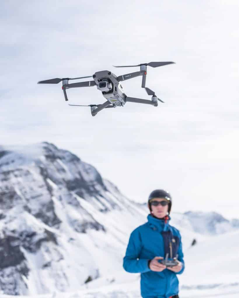 Droning in the alps