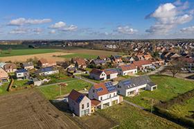 Luchtfotografie met drone als onderdeel van onze vastgoedfotografie