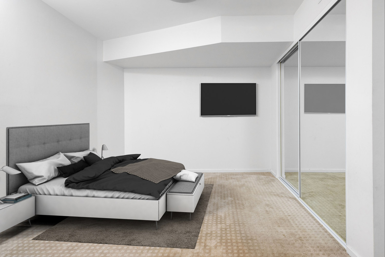virtual staging slaapkamer